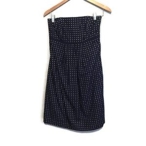 Lilly Pulitzer Strapless Navy Blue Eyelet Dress